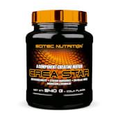 Crea Star es un complejo de creatina para el desarrollo y recuperación muscular.