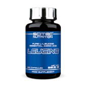 Leucina es un aminoácido esencial para la construcción muscular.