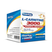 L-CARNITINA 3000 - QUAMTRAX NUTRITION - 20 Viales de 25ml