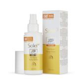 Solei SP Sun Care Spray Solar SPF 50+ protege la piel del sol.