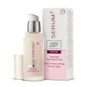 Serum 7 Fluido de Textura Ligera y Antiedad protege la piel del fotoenvejecimiento.