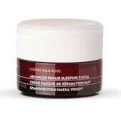 Korres Rosa Salvaje Tratamiento Facial Avanzado Reparación Nocturna hidrata la piel.