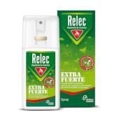Relec Extra Fuerte Spray Repelente de Insectos es un repelente de insectos y mosquitos de alta p