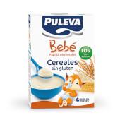 Puleva Bebé Cereales Sin Gluten FOS es una papilla de cereales para bebés intolerantes al gluten