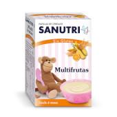 Descubre la papilla multifrutas de Sanutri para bebés