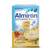 ALMIRON ADVANCE 8 CEREALES CON MIEL 500g - ALMIRÓN