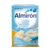 Almiron Crema de Arroz con efecto astringente.
