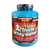 WHEY GAINER ACTIONS - AMINOSTAR