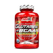 GLUTAMINA + BCAA 360 Caps - AMIX NUTRITION