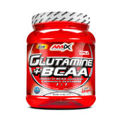 GLUTAMINA + BCAA 500g - AMIX NUTRITION