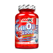 KRILL OIL 1000mg 60 Softgels - AMIX NUTRITION