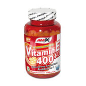 Vitamina E 400 IU - 100 Softgels - AMIX NUTRITION