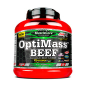 OPTIMASS BEEF GAINER 2500g - AMIX NUTRITION