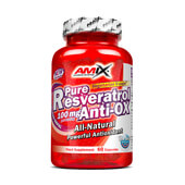 PURE RESVERATROL ANTI-OX 60 Caps - AMIX NUTRITION
