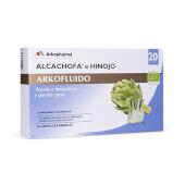 ARKOFLUIDO ALCACHOFA E HINOJO 20 Ampollas de 15ml - ARKOPHARMA