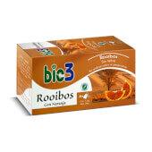 Bie3 Rooibos Con Naranja rica en antioxidantes.