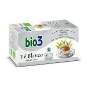 Bio3 Te Blanco Ecologico infusión con bajo contenido en teína.