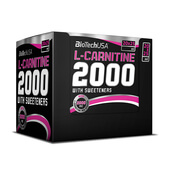 L-CARNITINE 2000 20 x 25ml - BIOTECH USA