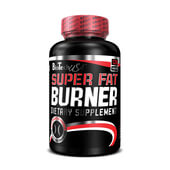 SUPER FAT BURNER 120 Tabs - BIOTECH USA