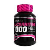L-CARNITINE 1000 - 60 Tabs - BIOTECH USA