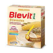 BLEVIT PLUS SUPERFIBRA 8 CEREALES 600g - BLEVIT