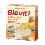 BLEVIT PLUS 8 CEREALES CON MIEL 600g - BLEVIT