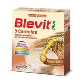 BLEVIT PLUS SUPERFIBRA 5 CEREALES 600g - BLEVIT