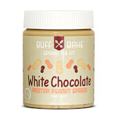 MANTEQUILLA DE CACAHUETE CHOCOLATE BLANCO 368g - BUFF BAKE