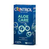 Control Aloe Care, preservativos con lubricación Aloe Vera.