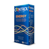 Control Energy preservativos con efecto calor.