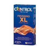 Control Finissimo XL preservativo fino y XL.