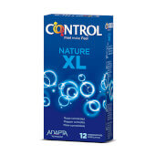 Control nature, preservativos grandes para disfrutar naturalmente.
