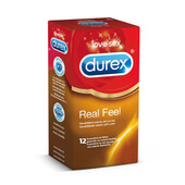 DUREX REAL FEEL 12 Unids - DUREX