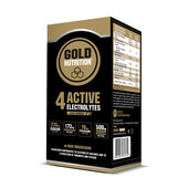 4 ACTIVE ELECTROLYTES 10 x 3g - GOLD NUTRITION