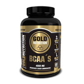 BCAAS 60 Tabs GOLD NUTRITION