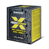 EXTREME CUT RIPPED DRAINER 20 x 10ml - GOLD NUTITION