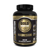 MAGNESIUM 60 Caps - GOLD NUTRITION