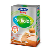 PEDIALAC PAPILLA 8 CEREALES CON GALLETA 500g - HERO BABY PEDIALAC