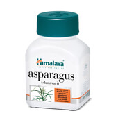 ASPARAGUS SHATAVARI 60 Caps - HIMALAYA