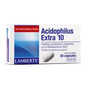 ACIDOPHILUS EXTRA 10 30 Caps - LAMBERTS