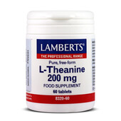 L-THEANINE 200mg 60 Tabs - LAMBERTS