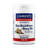 SEA BUCKTHORN BERRY OIL1000mg 60 Caps - LAMBERTS