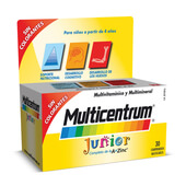 MULTICENTRUM JUNIOR 30 Tabs - MULTICENTRUM