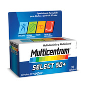 MULTICENTRUM SELECT 50+ 90 Tabs - MULTICENTRUM