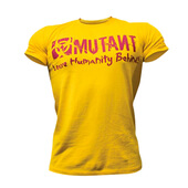 CAMISETA MUTANT LEAVE HUMANITY BEHIND! - MUTANT