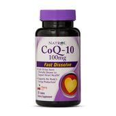 CoQ-10 100mg - 30 Tabs - Natrol