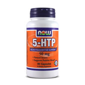 5-HTP 50 mg 90 Caps - NOW FOODS