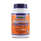 BROMELAIN 500mg 120 VCaps - NOW FOODS