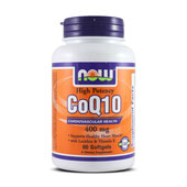 COQ10 400mg 60 Softgels - NOW FOODS