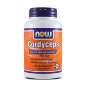 CORDYCEPS 750mg 90 VCaps - NOW FOODS